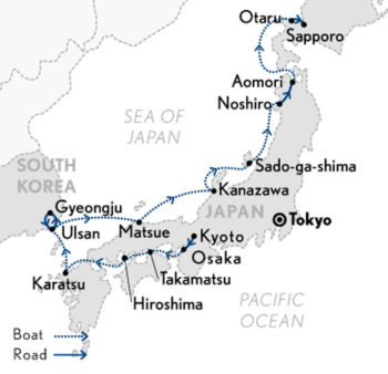 Wonders Of Japan Cruise The Orient Japan - Japan map download pdf