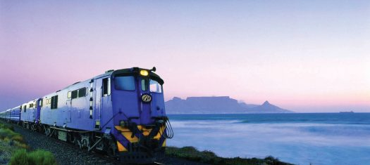 The Blue Train: Pretoria - Cape Town